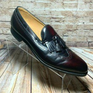 Johnston & Murphy Burgundy Leather Loafer 11 A/3A